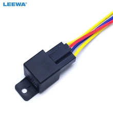10pcs Car Automotive pin 12VDC 40 30A Constant Closed Relay Controller With Wire Harness Adapter CA3883_220x220 automotive control cable reviews online shopping automotive 12V DC Battery at gsmx.co
