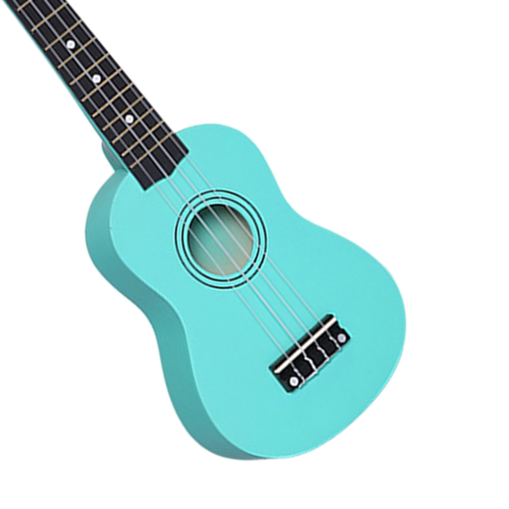 Купить с кэшбэком 21 Inch Soprano Ukulele Uke Spruce Sapele Four Strings plastic
