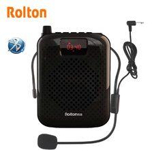 Rolton K500 Bluetooth Haut-Parleur Microphone Amplificateur de Voix Booster Mégaphone Président Pour la Tournée Enseignement Guide de Promotion Des Ventes