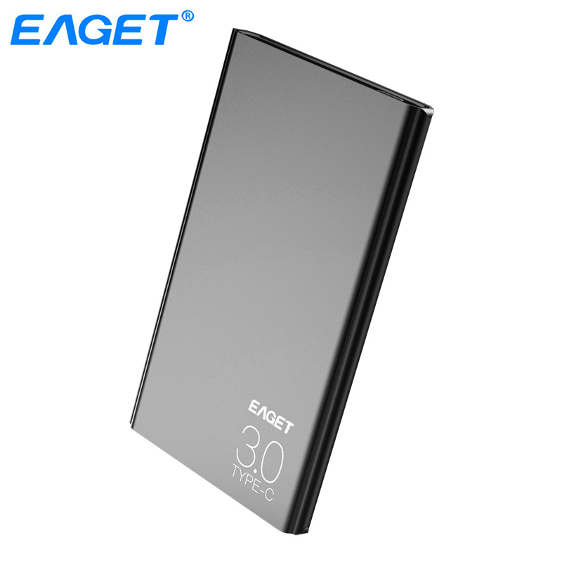 Eaget External Hard Drive 1TB HDD Type C 3.0 Externo Disco Storage Devices Laptop 2.5 Ultra-thin High Speed 3.1 Hard Disk 1tb eaget external storage devices 1tb high speed 2 5 hdd usb 3 0 desktop laptop 2tb hard disk 3tb external hard drive
