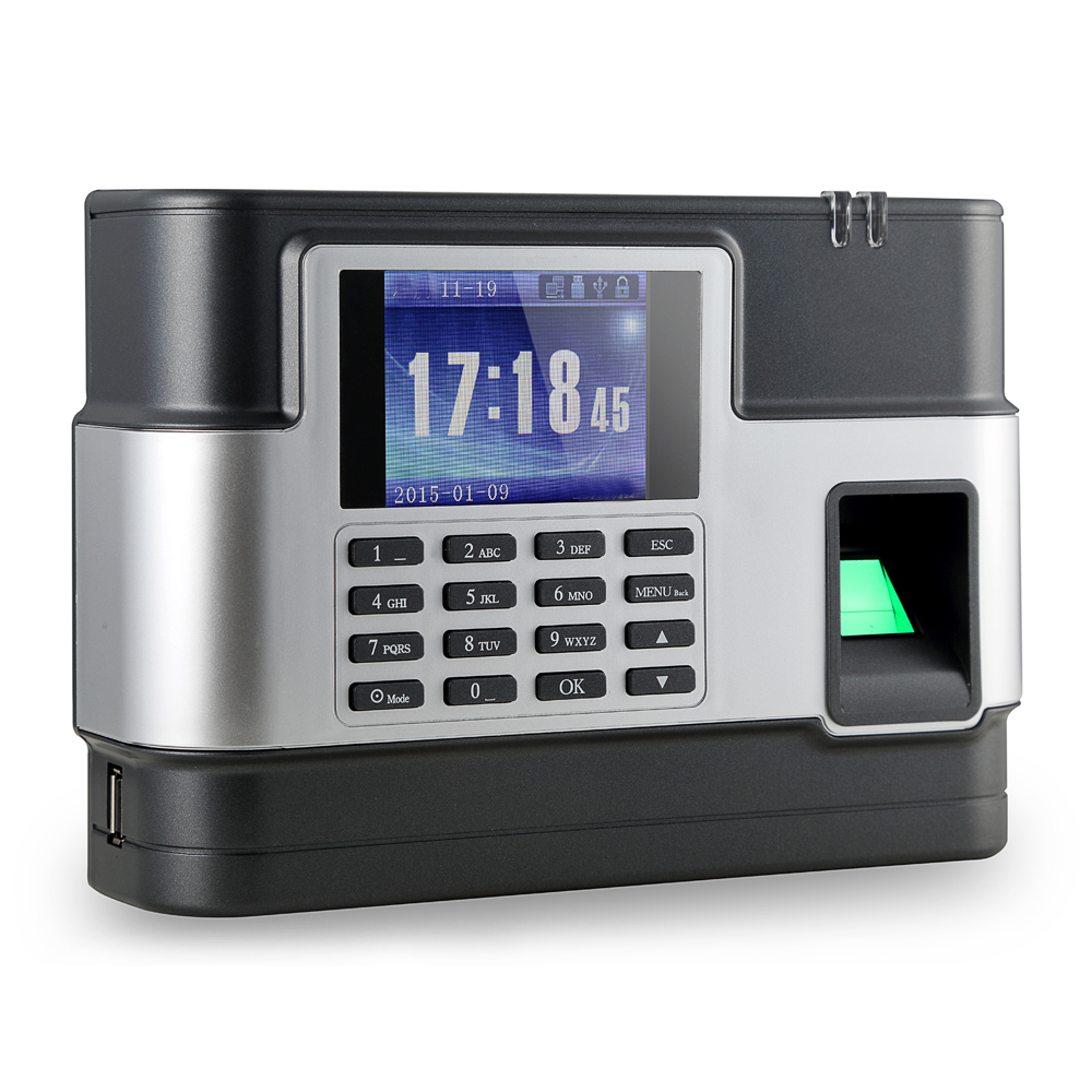 New Biometric Fingerprint Password Attendance Machine Employee Checking-in Recorder TCP/IP Time Attendance Clock Time Recording a c081 tcp ip biometric fingerprint time clock recorder attendance employee electronic time recording device
