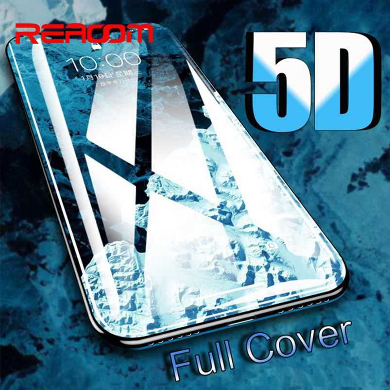 5D Glass for iPhone Xs Glasses Full Cover Tempered Glass for Apple iPhone Xs Max Xr 6 6S Plus 7 8 Plus 10 X Screen Protector 3D
