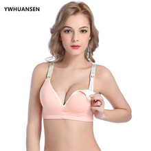 a8cca3dda8f9c YWHUANSEN Cotton Brasier Mujer Soft Pregnant Nursing Bra Mom s Lactation  Bras For Feeding Wire Free Underwear