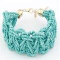 New Fashion Femme Bracelet&Bangle Jewelry Bohemia Style Vintage Beads Imitation Pearl Bracelet For Women Bijoux Pulseiras JQ325