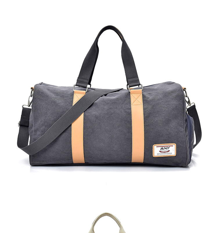 d1b6291f15 Fashion Canvas Men Travel Bags Large Capacity. Casual Travel Duffel Bags  Women. Leisure Shoulder Travel Luggage Weekend Bag 1402. 1402 01 ...