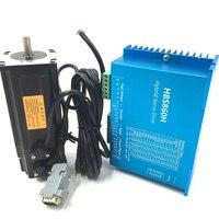DSP CNC Stepper kits HBS860H+57HBS30 CNC Router NEMA23 3N.m Closed Loop Stepper Drive + Motor kits DC36V Easy Servo Kits
