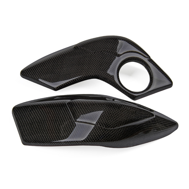Carbon Fiber Tank Sliders Protectors Tank Protector Covers For YAMAHA R1 2015 2016 2017 2018 New