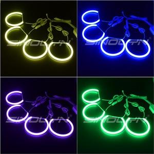 Image 4 - RGB LED עיני מלאך עבור BMW 3 5 סדרת E46 E36 E39 סדאן/Wagon/קופה פנס כוונון DRL הילות רב צבעים Retrofit אבזר