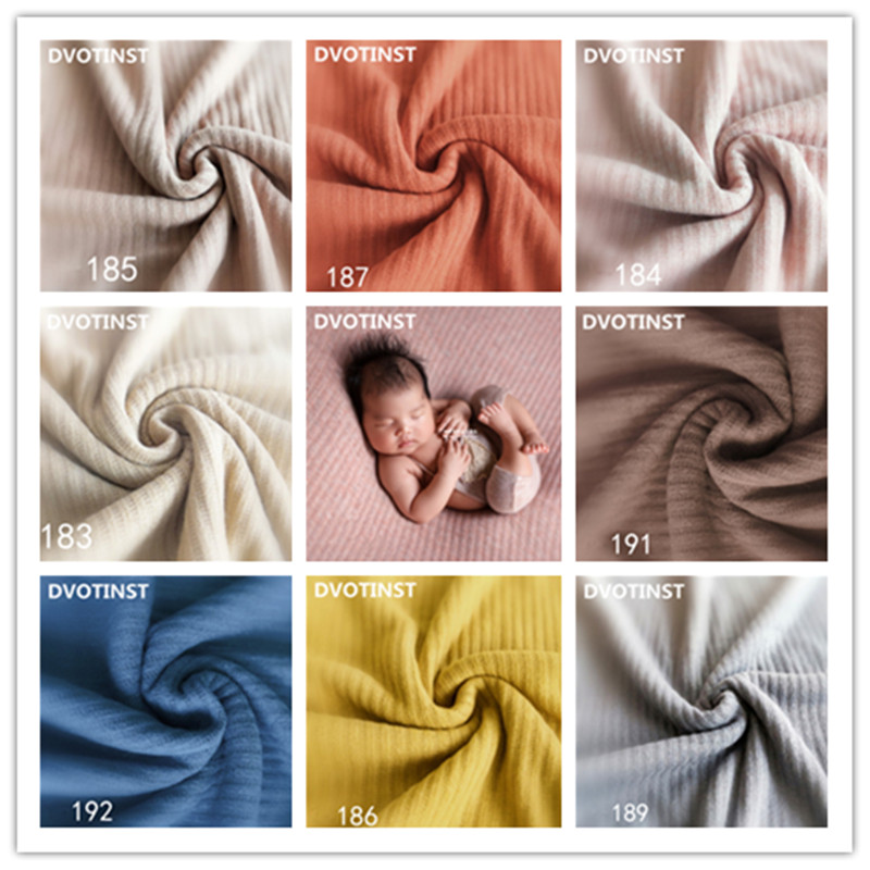 Dvotinst Baby Newborn Photography Props Crochet Knitted Soft Background Blanket Fotografia Accessories Studio Shoots Photo Props kate 5x7ft light brown color newborn photography 1st birthday backdrops wood floor baby photo props background studio fotografia