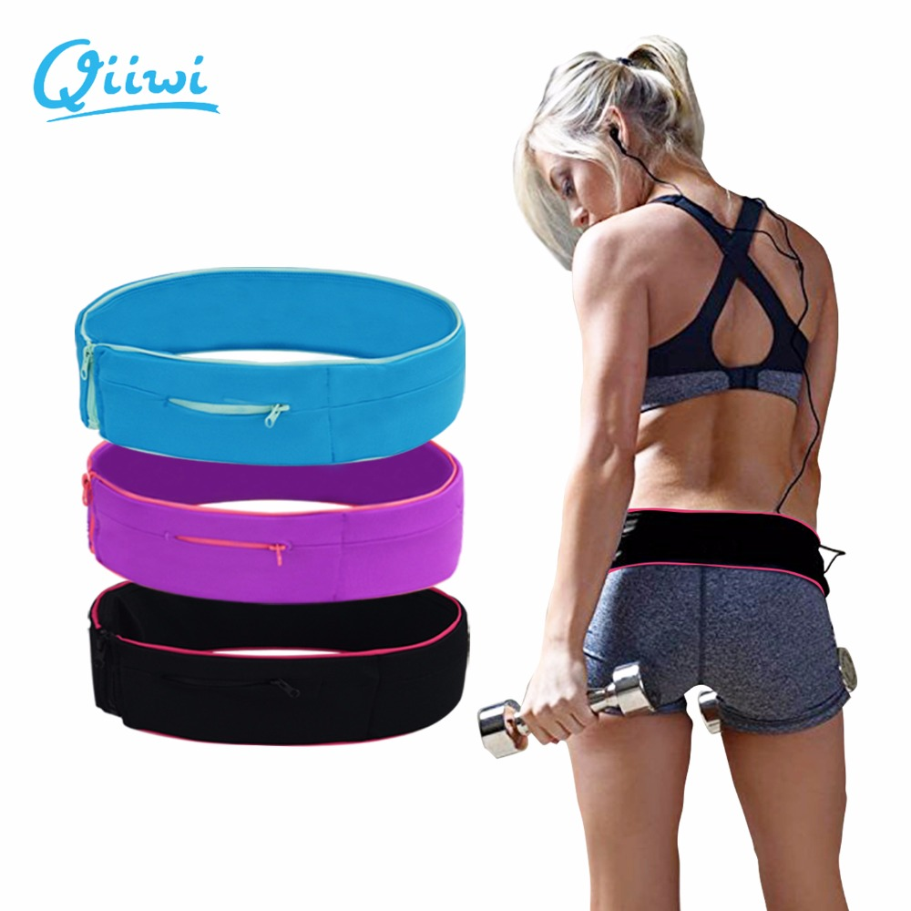 Dr.Qiiwi Professional Running Waist Bag For Mobile Phone Unisex Gym Running