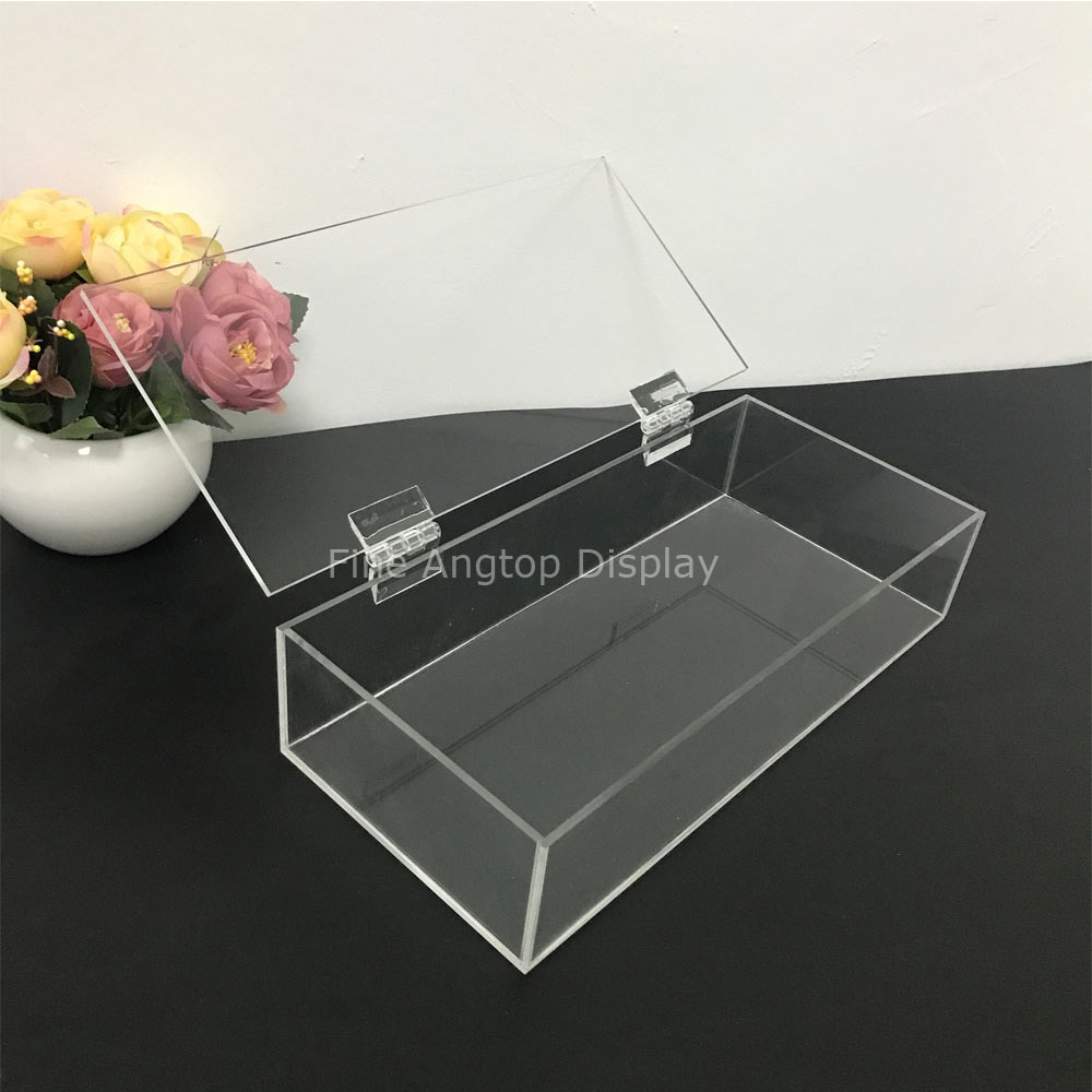 Clear Acrylic Jewelry Cosmetic Storage Display Box Necklace Bracelets Gift Boxes clear acrylic jewelry cosmetic storage display box necklace bracelets gift boxes