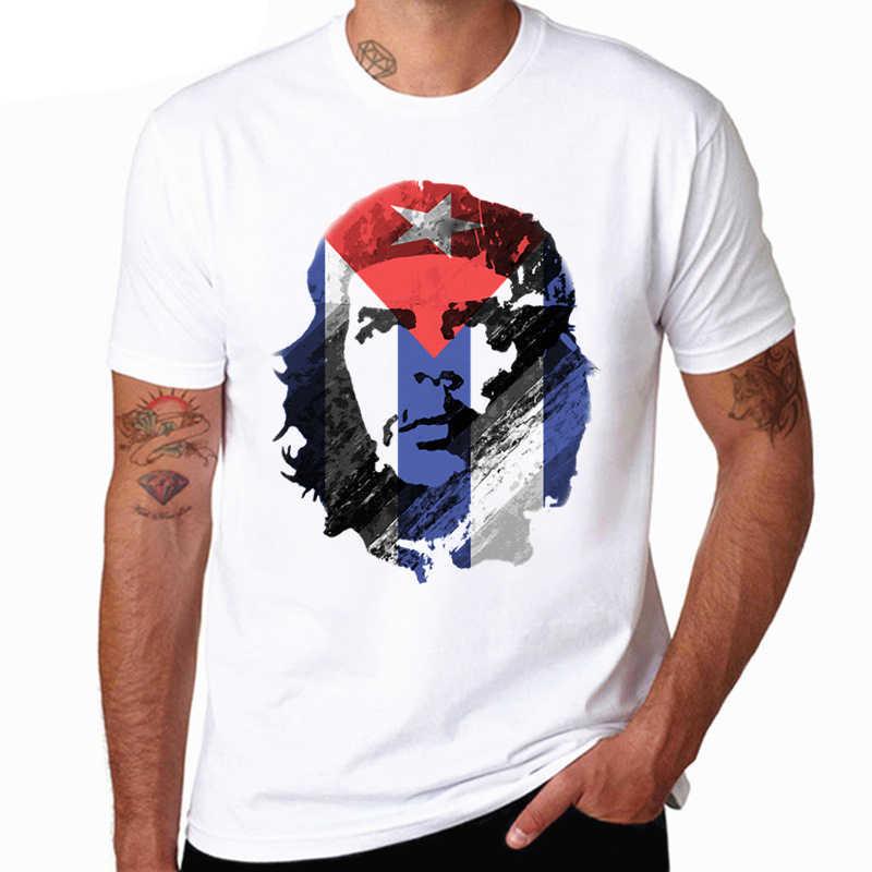 ... Cuba Rip comunista Che Guevara hombres T-shirt moda o-cuello hombres  camiseta verano ... 355e889db3185