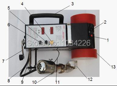 plastic flim jointer/automatic banner welder/seamer/heat welder/PVC welding machine/welder equipment/intelligent banner welder
