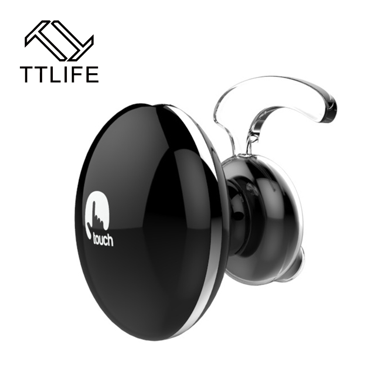 TTLIFE Mini Stereo Bluetooth Earphone wireless headphone Headset for Mobile Phone for all phones ttlife mini wireless stereo bluetooth v4 0 headset high quality handsfree headphones universal for iphone samsung all phones
