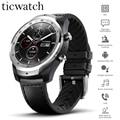 Original mundial Ticwatch Pro desgaste OS reloj inteligente NFC en Google, asistente de Google IP68 capas de tiempo de espera GPS reloj