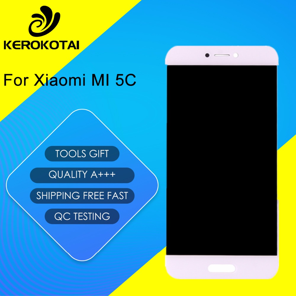 FOR Xiaomi 5C 100% Tested Good Quality LCD Display Touch Screen Digitizer Full Assembly MI 5C LCD AssemblyFOR Xiaomi 5C 100% Tested Good Quality LCD Display Touch Screen Digitizer Full Assembly MI 5C LCD Assembly