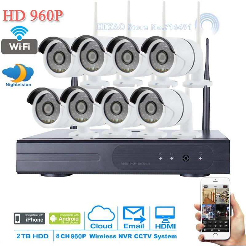 NEW Plug And Play P2P 960P WIFI HD 36 IR Outdoor Surveillance IP Camera Security CCTV