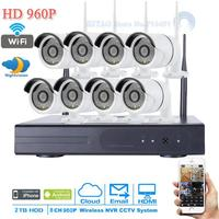 NEW Plug And Play P2P 960P WIFI HD 36 IR Outdoor Surveillance IP Camera Security CCTV