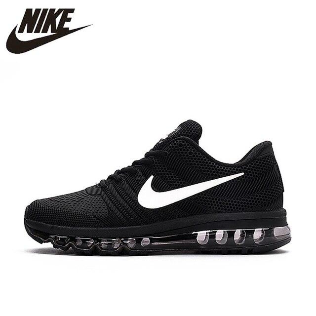 Venda quente NIKE Air MAX 2017 tênis de Corrida da Nike palma completa nano tecnologia Disu 40 sapatas Dos Homens Esportes Tênis quentes -46