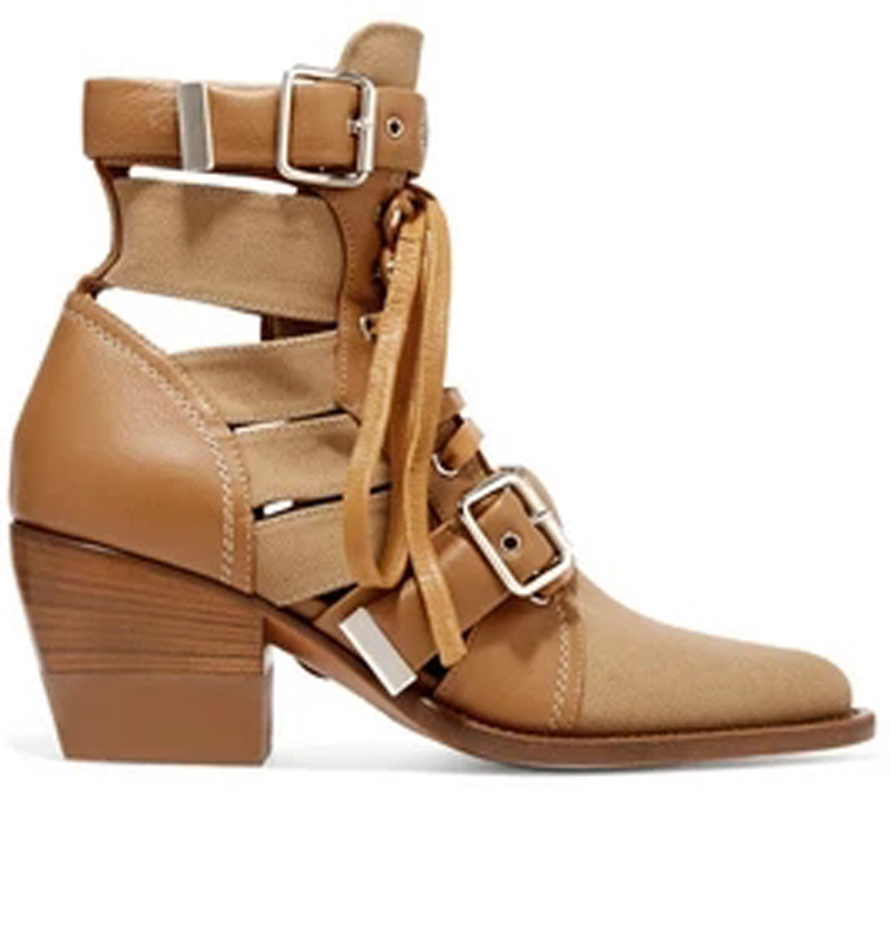 Spring British Style Hemp leather Patched Belt Metal buckle Ankle Boots Women Round toe Ladies Sexy Med High Heels Martin BootsSpring British Style Hemp leather Patched Belt Metal buckle Ankle Boots Women Round toe Ladies Sexy Med High Heels Martin Boots