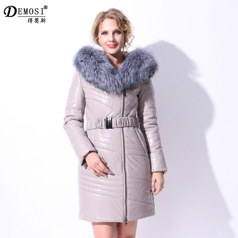 Factory direct supply Real natural silver fox fur collar winter Slim thick real camel hair Hooded women coat Polyurethane Parker какой телефон можно за 3000 т р