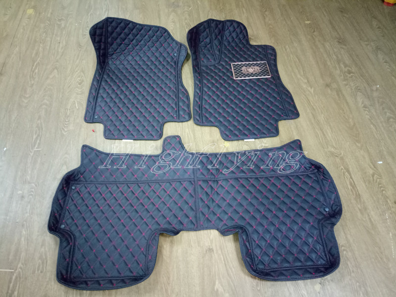 Interior Accessories Floor Mats Carpets Mat Pads Protector 3pcs For Honda CRV CR-V 2012-2016 auto floor mats for honda cr v crv 2007 2011 foot carpets step mat high quality brand new embroidery leather mats