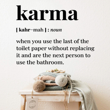 NEW karma Wall Sticker Pvc Removable Decor Living Room Bedroom Diy Home Decoration Accessories