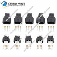 5 Juegos de 4 clavijas a prueba de agua macho hembra conector de cable eléctrico DJ7041K-0.6-11/21 4 P enchufe de coche