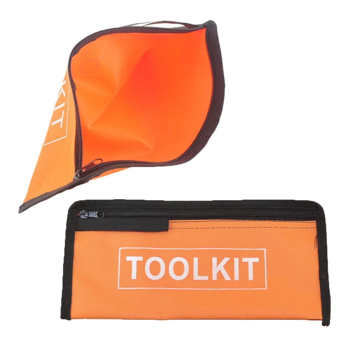High Quality Hardware Tool Toolkit Storage Bag Oxford Handy Zip Pouch Handbag Waterproof