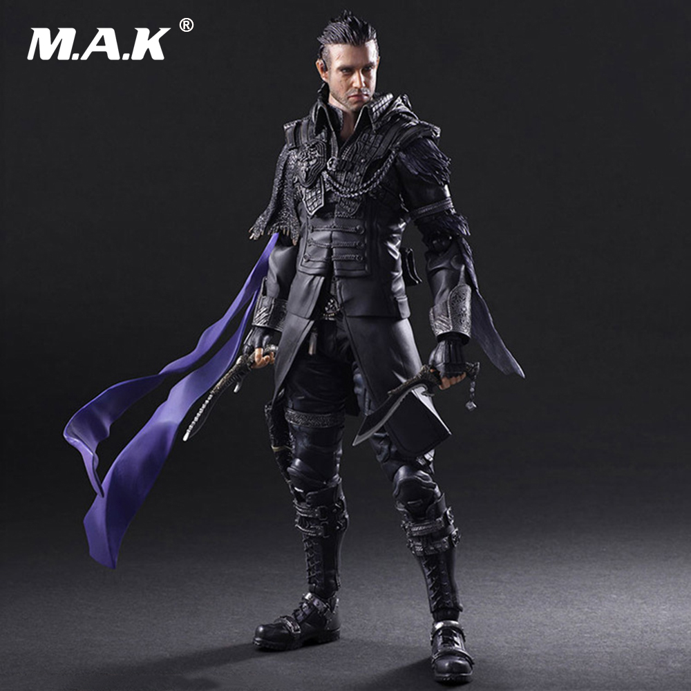 27cm PVC The Final Fantasy Movable Action Figures with Box FOR Collections Toys Gofts