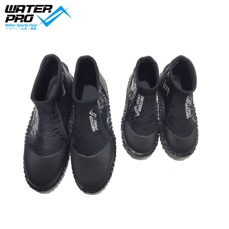 Water Pro Dive Boot 3mm Water Boots Stivali in gomma per sport acquatici Snorkeling Diving Adult & Kids
