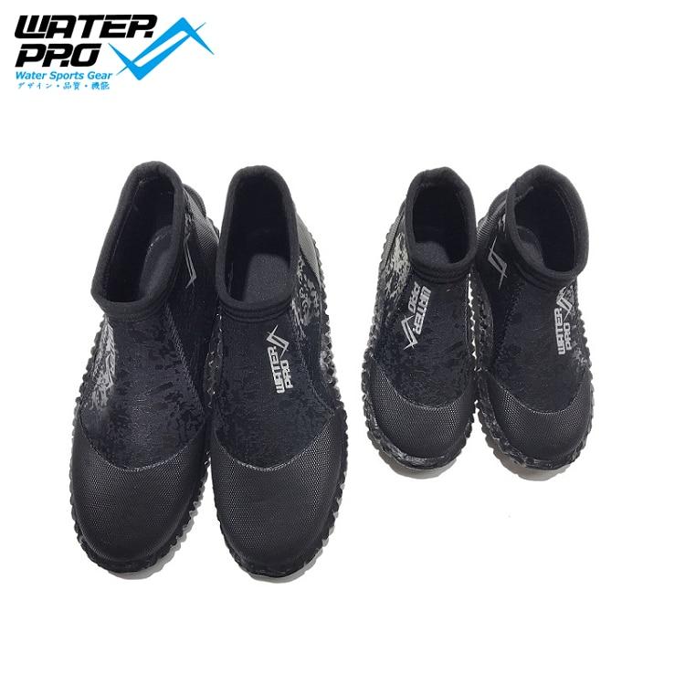वाटर प्रो डाइव बूट 3 मिमी पानी के जूते पानी के खेल स्नॉर्कलिंग डाइविंग के लिए वयस्क और बच्चे