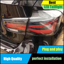 лучшая цена Car Styling Tail Light  For BMW F35 F30 318i 318Li 320i 3 series Taillight Assembly 2013-2017 Rear Brake+Reverse+Signal Lamp