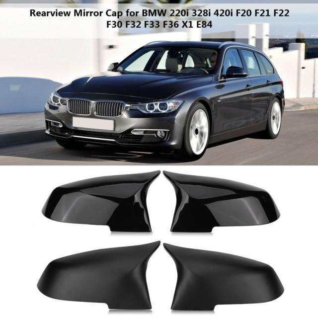 Pair Rearview Mirror Cover Cap For BMW I I I F F - Bmw 220i