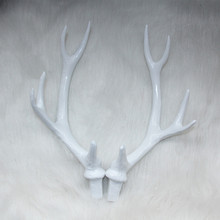 27CM Faux Deer Antlers a Set Rustic Home Decor