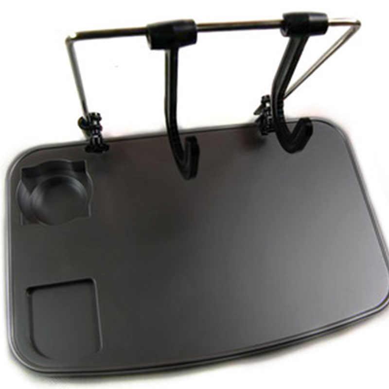 Sederhana Mobil Meja Komputer Mobil Notebook Desktop Berdiri Meja Makan Mobil Meja Komputer Berdiri Tray Hanging Organizer Aksesoris