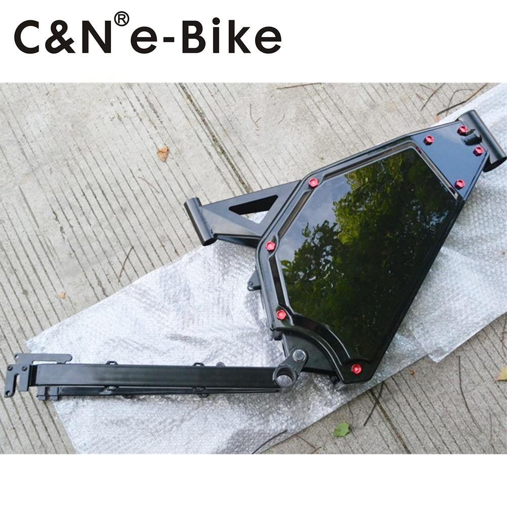 2017 Newest Design 5000W 3000W 1500W 1000W Snow Fat Electric Bike Mountain Bike Enduro Ebike Frame