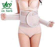 CN Herb Hot Sale Breathable Superelastic Adjustable Postpartum Recovery Belt Slimming Support Girdle Band Postnatal Binder