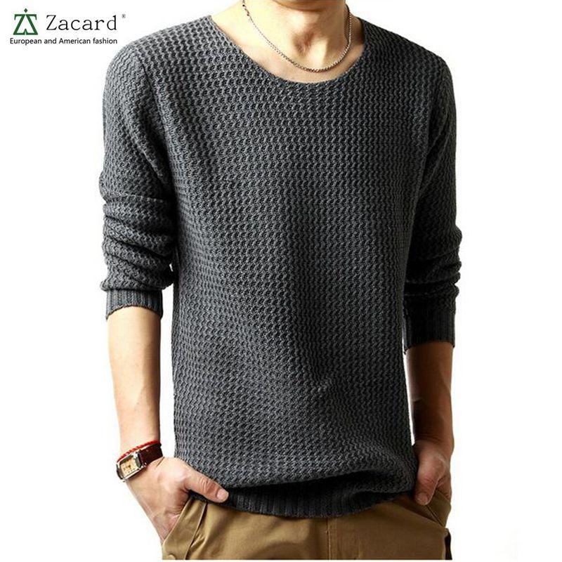 2016 Primavera Marca Mens Casual Sweater Pullover