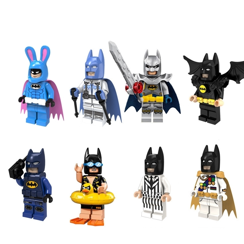 Diy The Avengersed Marveled DC Super Heroes Series Assembling Blocks Toys Compatible with figures Action Toys for Children Gifts 12pcs set children kids toys gift mini figures toys little pet animal cat dog lps action figures