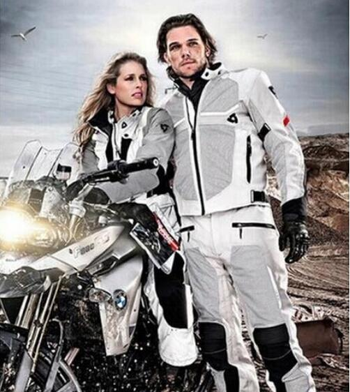 Removable-Washer Protective-Cover Revit Tornado Racing-Racing-Jacket Motorcycle Titanium title=