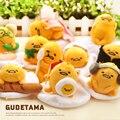 1 Pcs 10 cm Japonês Dos Desenhos Animados Anime Gudetama Preguiçoso Monarca Ovo gema de chaveiros pingentes de brinquedo de pelúcia macia da boneca dos desenhos animados mini toys crianças
