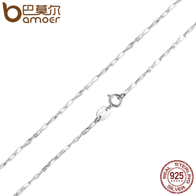 Sterling Silver Adjustable Basic Chain