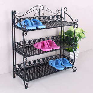 Continental Iron Dust Simple Shoe Shoe Outdoor Shoe Rack Tee Or Four Multi   Floor Storage