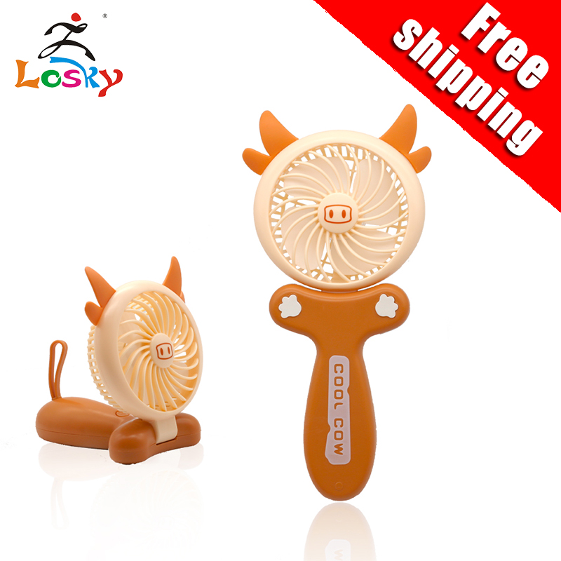 New USB mini fan Portable small fold
