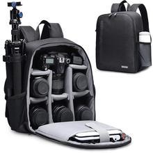 CADeN Многофункциональный рюкзак для камеры цифровая DSLR сумка для камеры водонепроницаемая сумка для наружного фотоаппарата чехол для фото для Nikon Canon sony