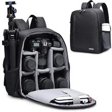 цена на CADeN Multi-functional Camera Backpack Video Digital DSLR Bag Waterproof Outdoor Camera Photo Bag Case for Nikon/ Canon DSLR