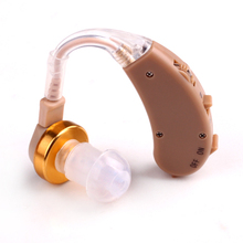AXON Behind Ear Advanced high quality analogue Hearing Aid N-H Deaf sound Receiver Volume control V-168 Clear and loud voice
