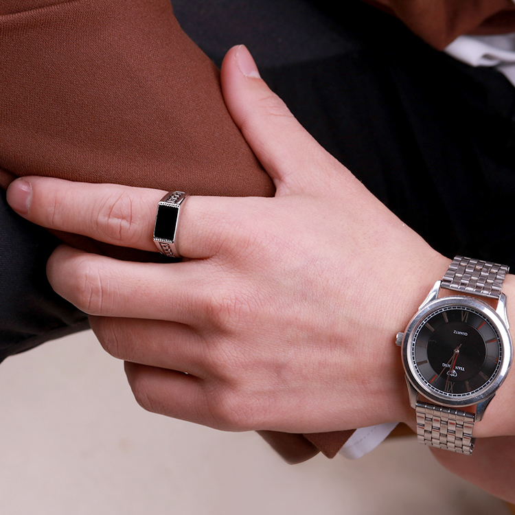 Magnificent Ring Watch For Man Contemporary - Jewelry Collection ...