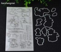 Dinosaur And Metal Stamping Stamp Templates DIY Scrapbook Albums DIY Paper Decorative Embossed Card Items